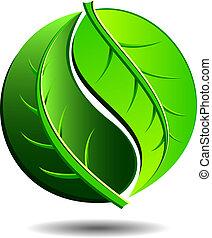 Un icono verde