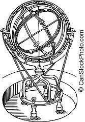 Un instrumento de astronomía