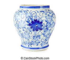 Un jarrón antiguo chino