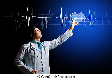 Un joven cardiólogo