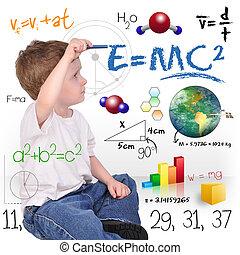 Un joven genio de la ciencia matemática