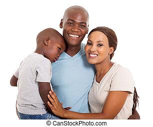 Un joven retrato familiar africano