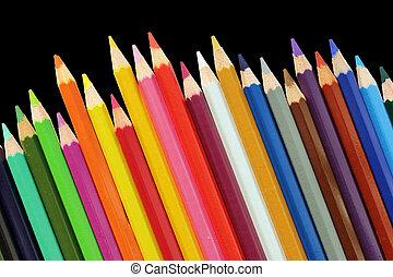 Un juego de lápices