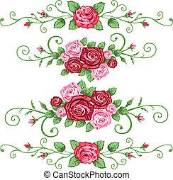 Un juego de rosas