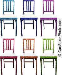 Un juego de sillas