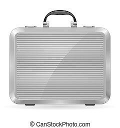 Un maletín de plata