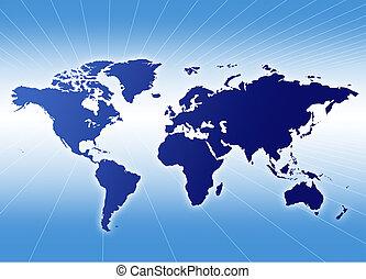 Un mapa del mundo
