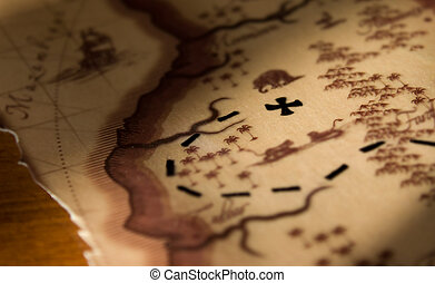 Un mapa del tesoro