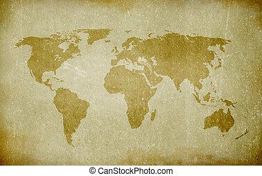 Un mapa del viejo mundo