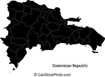 Un mapa republicano negro