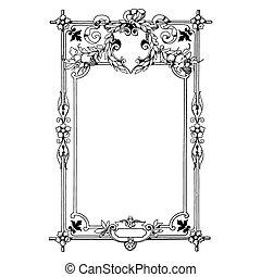 Un marco antiguo