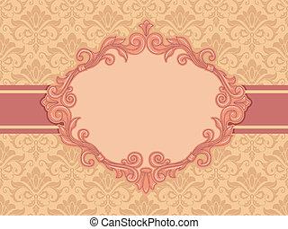 Un marco barroco