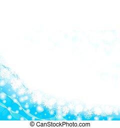 Un marco de Copo de Nieve