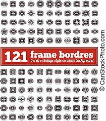 Un marco de frontera.