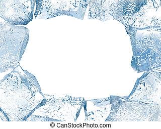 Un marco de hielo