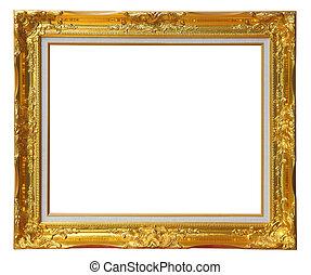 Un marco de luise de oro