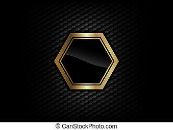 Un marco de oro