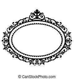 Un marco decorativo