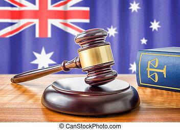 Un martillo y un libro de leyes, Australia