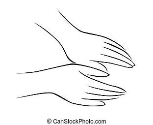 Un masaje de manos