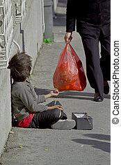 Un mendigo gitano