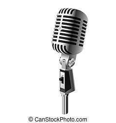 Un micrófono clásico