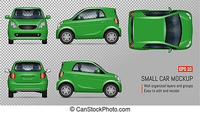 Un mini auto realista