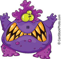 Un monstruo terrible