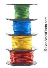 Un montón de cables