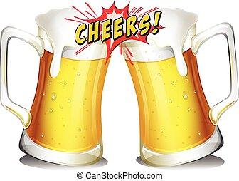 Un montón de cervezas