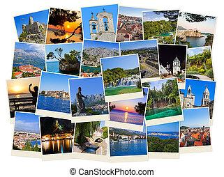 Un montón de fotos de viaje de Croacia