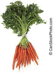 Un montón de zanahorias