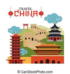Un monumento a China Travel