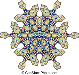 Un motivo floral otomano