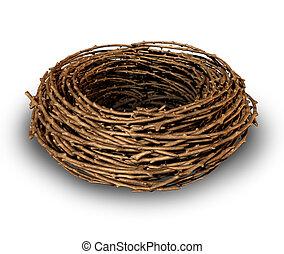 Un nido vacío