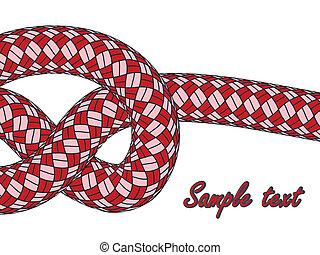 Un nudo en la cuerda roja