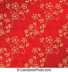 Un nuevo año chino oriental sin manchas