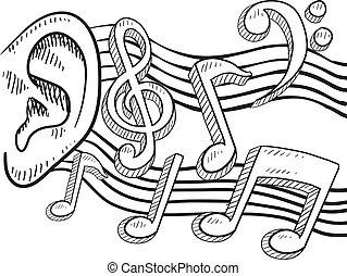 Un oído para la música