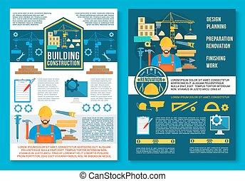 Un póster de Vector para construcción casera