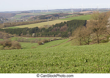 Un paisaje agrícola
