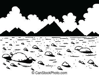 Un paisaje desolado