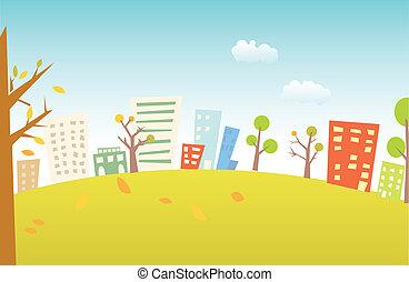 Un paisaje urbano
