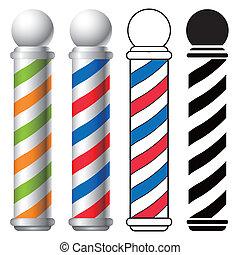 Un palo de barbero