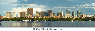Un panorama en Boston