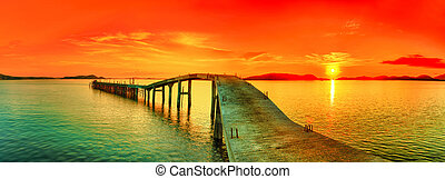 Un panorama Sunset