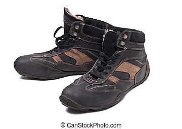 Un par de botas de otoño