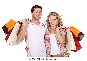 Un par de compras juntos