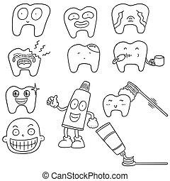 Un par de dientes