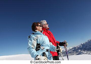 Un par de esquíes