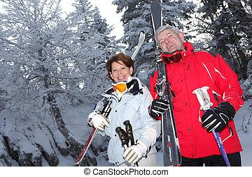 Un par de esquís